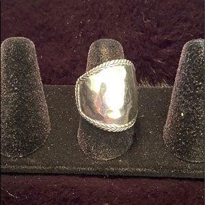 Silpada Braided edge ring
